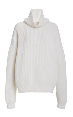 Oversized Wool-Blend Turtleneck Sweater By Brandon Maxwell | Moda Operandi