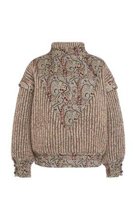 Embroidered Wool-Blend Sweater By Etro | Moda Operandi