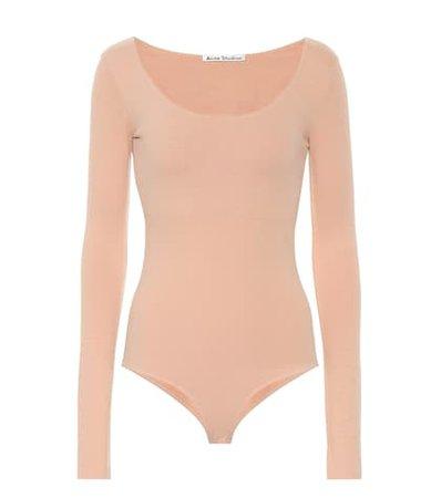 Emanuelle stretch cotton bodysuit