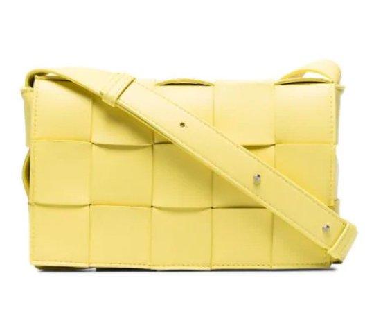 yellow designer bag