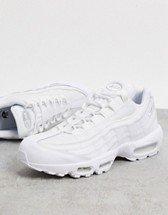 Nike Air Max 97 sneakers in triple white | ASOS