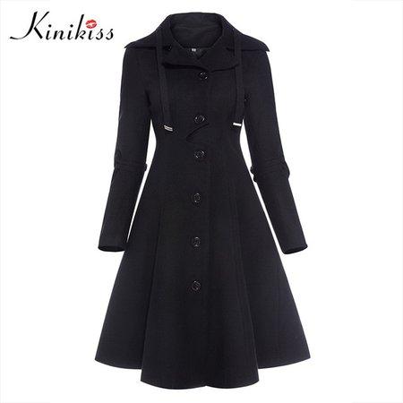 Long Trench Coat Skirt