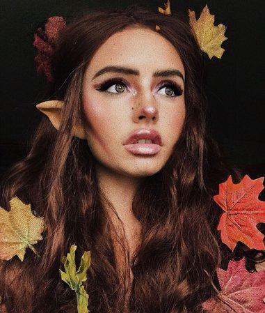 Woodland Fairy Costume Makeup