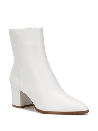 Alexandre Birman Pointed Ankle Boots B3504300020004 White | Farfetch