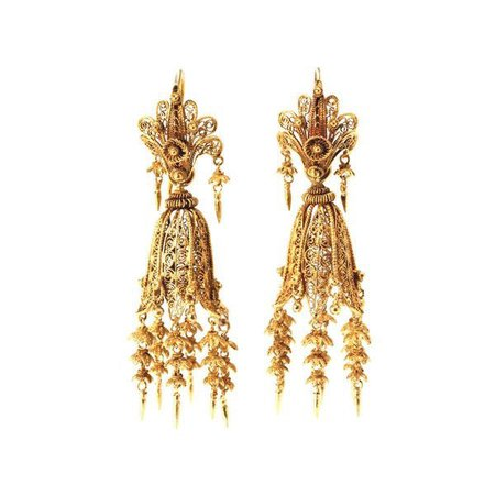 gold earrings ??