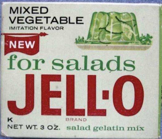 50s jello box