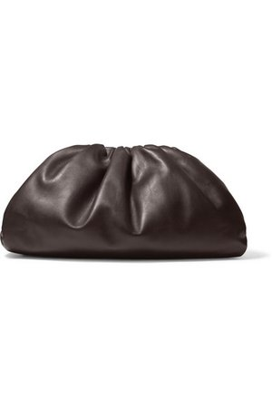 Bottega Veneta | The Pouch large leather clutch | NET-A-PORTER.COM