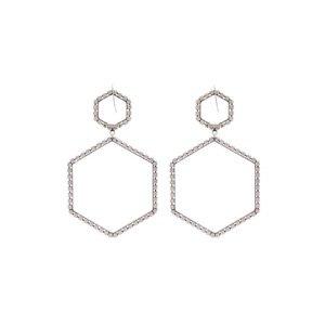 Here It Is crystal hexagon-drop earrings | Isabel Marant