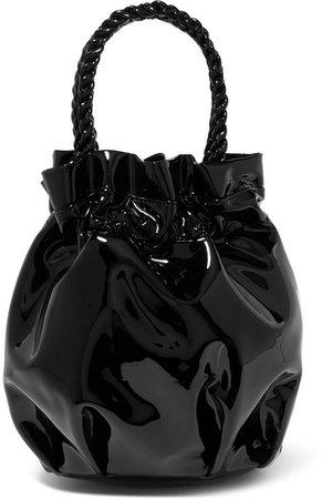 STAUD | Grace patent-leather tote | NET-A-PORTER.COM