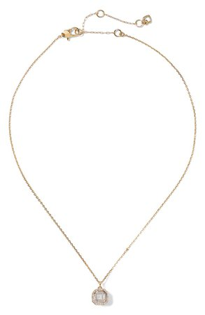 kate spade new york brilliant statements pendant necklace | Nordstrom