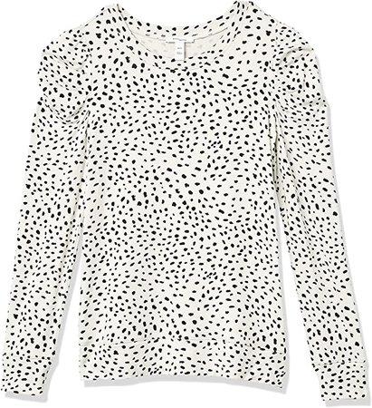 Amazon.com: Amazon Brand - Daily Ritual Women's Supersoft Terry Pleated-Sleeve Sweatshirt: Clothing