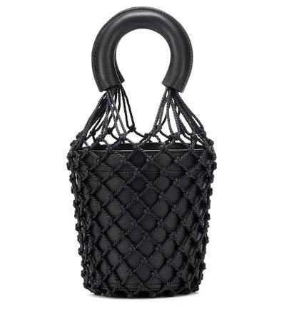 Moreau leather bucket bag