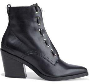 Ryder Lace-up Leather Ankle Boots