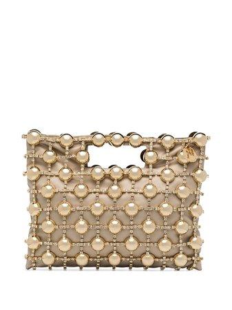 Rosantica Clutch Dinastia Con Perline - Farfetch