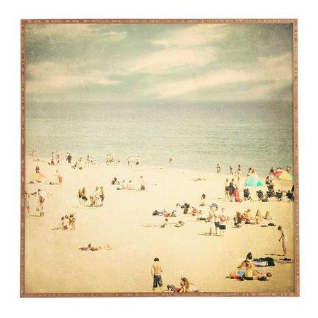 Vintage Beach art