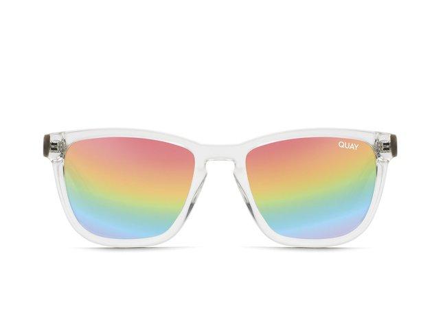 HARDWIRE POLARIZED Square Sunglasses | Quay Australia