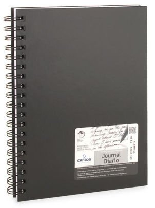 Black Lined Canson Journal 7x10 | 9780840069399 | Item | Barnes & Noble®