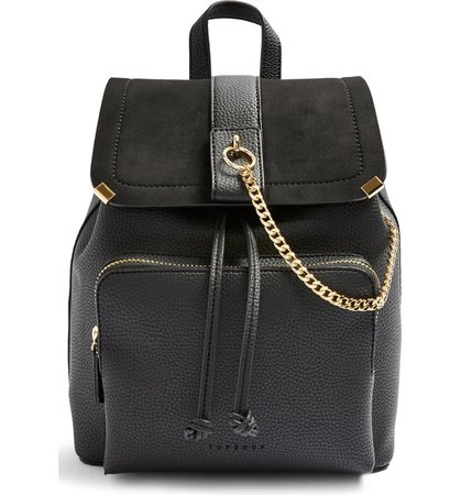 Topshop Brandy Faux Leather Backpack | Nordstrom