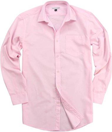 Urban Boundaries Mens Button Down Point Collar Black White Dress Shirts (Light at Amazon Men's Clothing store