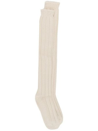 Rick Owens ribbed long socks