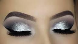 silver eyeshadow makeup - Google Search