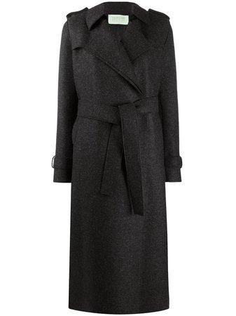 Harris Wharf London, Long Wool Trench Coat