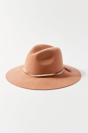 Two-Tone Felt Panama Hat | Urban Outfitters