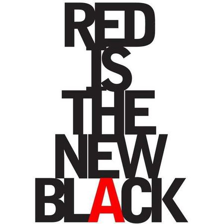 red and black words - Google Search