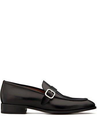 Giuseppe Zanotti Side Buckle Loafers EU00006001 Black | Farfetch