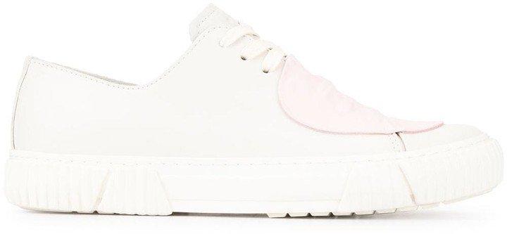 Both Contrast Toe Sneakers