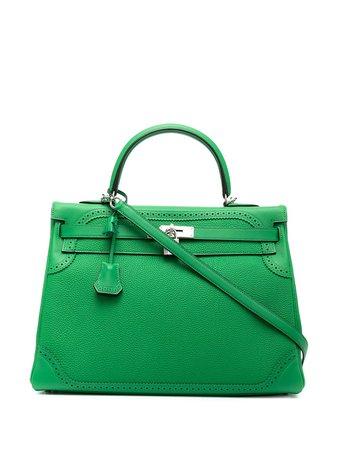 Hermès Sac à Main Kelly Ghillies 35 pre-owned (années 2014) - Farfetch