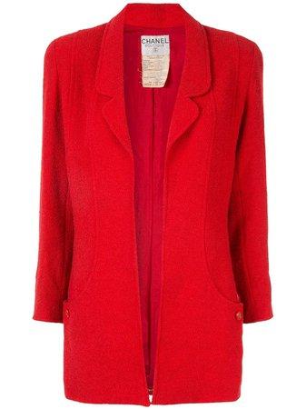 Chanel Pre-Owned 1994 Long Sleeve Jacket - Farfetch