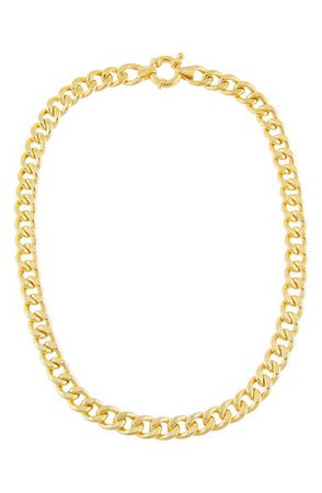 Adina's Jewels Miami Curb Link Choker Necklace | Nordstrom