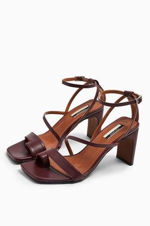 RIO Plum Toe Loop Sandals | Topshop