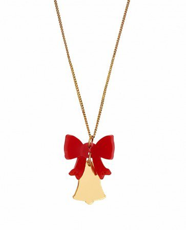 Tatty Devine Christmas Bell Necklace