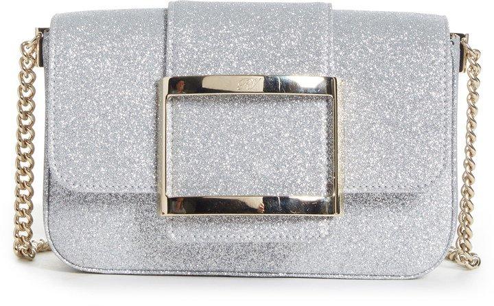 Tres Vivier Glitter Crossbody Bag