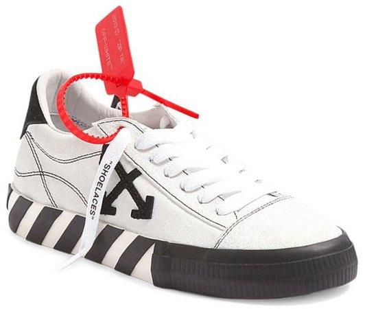 Arrow Low-Top Canvas Sneakers