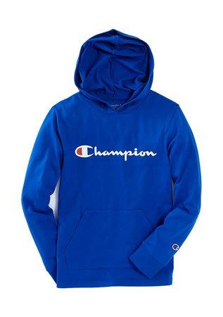 Champion® Boys 8-20 Long Sleeve Signature Hoodie | belk