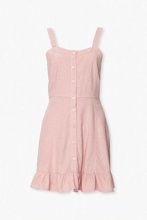 Fit & Flare Mini Ruffle Dress | Forever 21