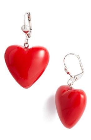 Classic Hardware Bubble Heart Earrings | Nordstrom