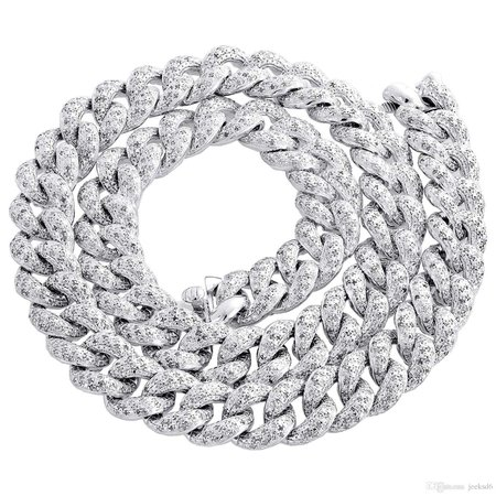 diamond cuban link