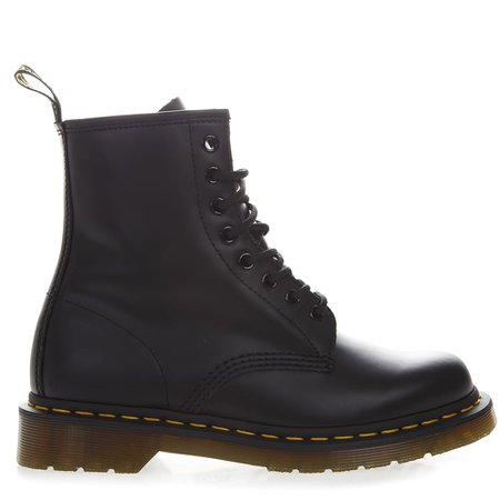 Dr. Martens Black Leather Army Boots