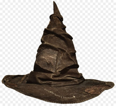 harry potter sorting hat transparent