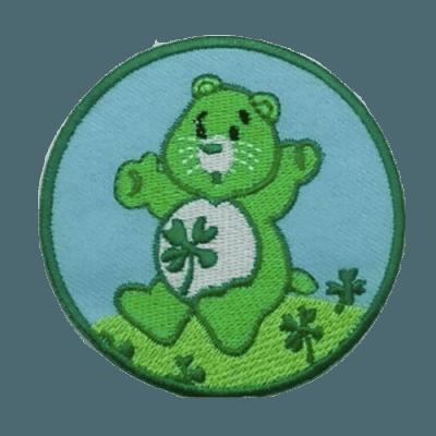 good luck bear patch