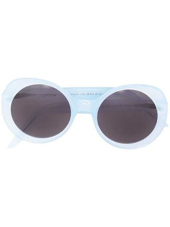 $469 Lapima Round Frame Sunglasses - Buy Online - Fast Delivery, Price, Photo