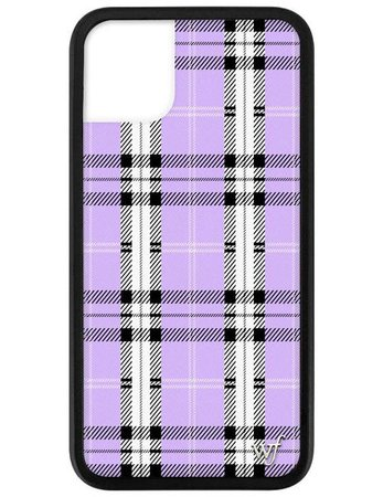 Lavender Plaid iPhone 11 Case – Wildflower Cases