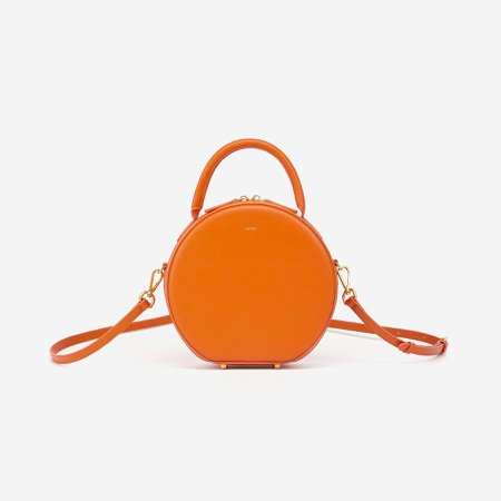 Mini Circle Top Handle Bag - Feu – JW PEI