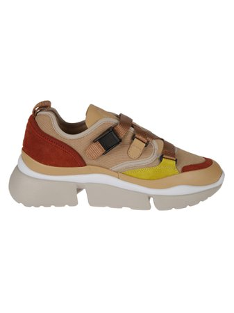 Chloé Western Strapped Sneakers