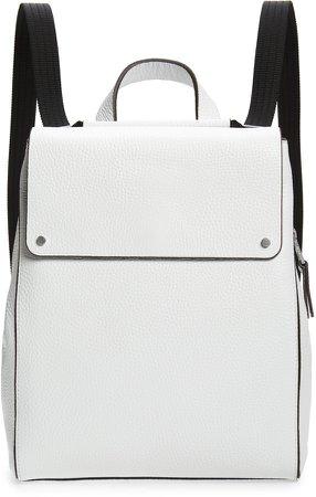 Amari Pebbled Leather Backpack
