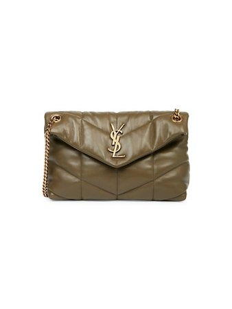Saint Laurent Loulou Puffer Leather Shoulder Bag | SaksFifthAvenue